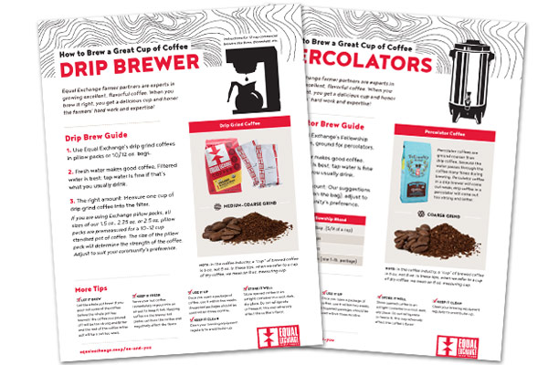 Brewing Tips Flyer