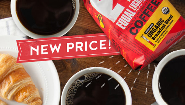 Breakfast Blend: New Price