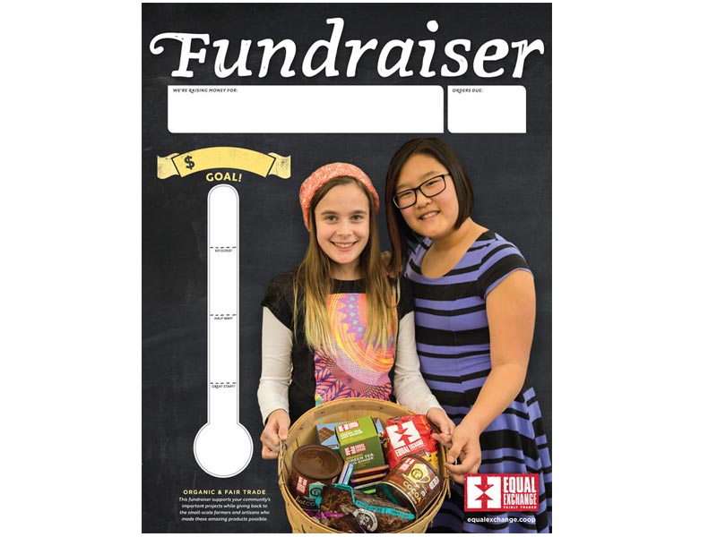 Fundraising Goal Poster