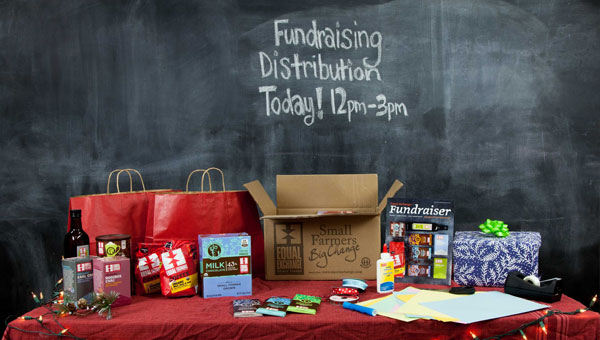 Fundraising distribution table