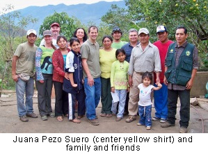 Juana Pezo Suero and family