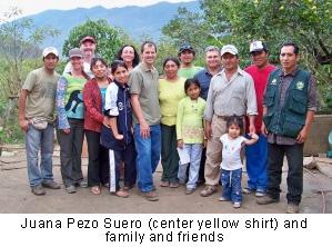 Juana Pezo Suero and family