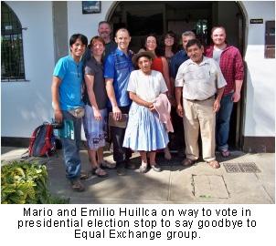 Mario and Emilio Huillca
