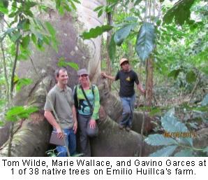 Tom Wilde, Marie Wallace and Gacino Garces