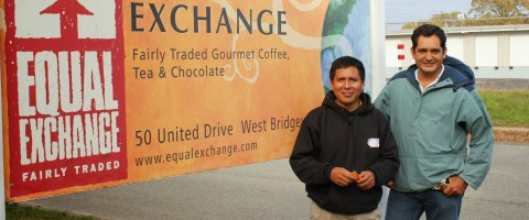 Chocolate managers from Peru