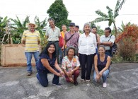 ASPROCAFE Ingruma workshop crew at field-based training