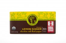 Lemon Ginger Chocolate Bar
