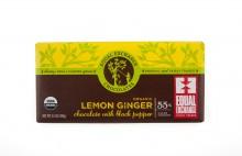 Lemon Ginger Chocolate Bar