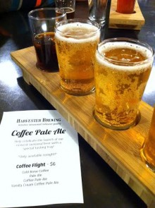 Beer Coffee Flight