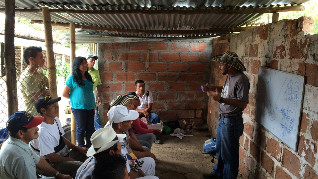 Talking Dirt In Colombia Equal Exchange