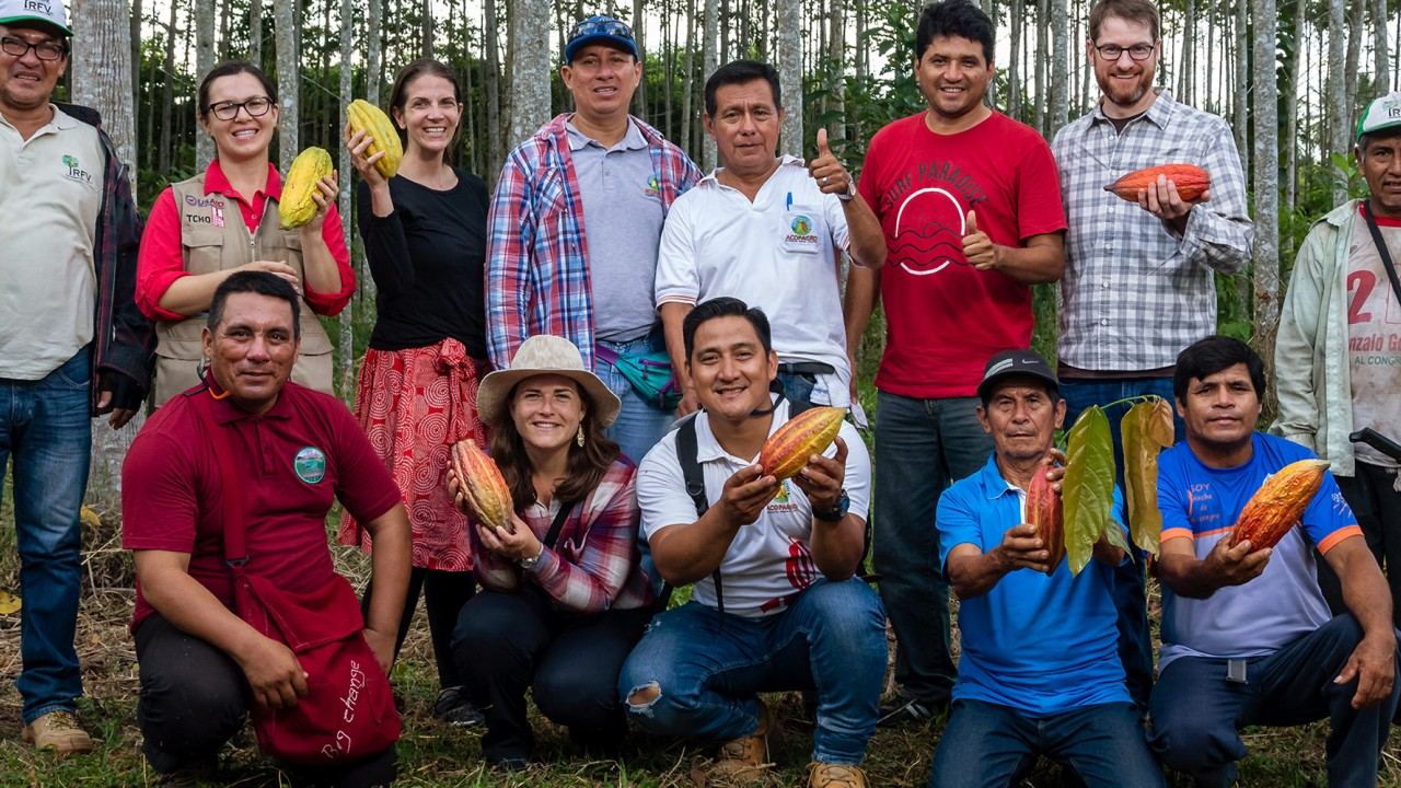 A trip to visit Chocolate producers at ACOPAGRO