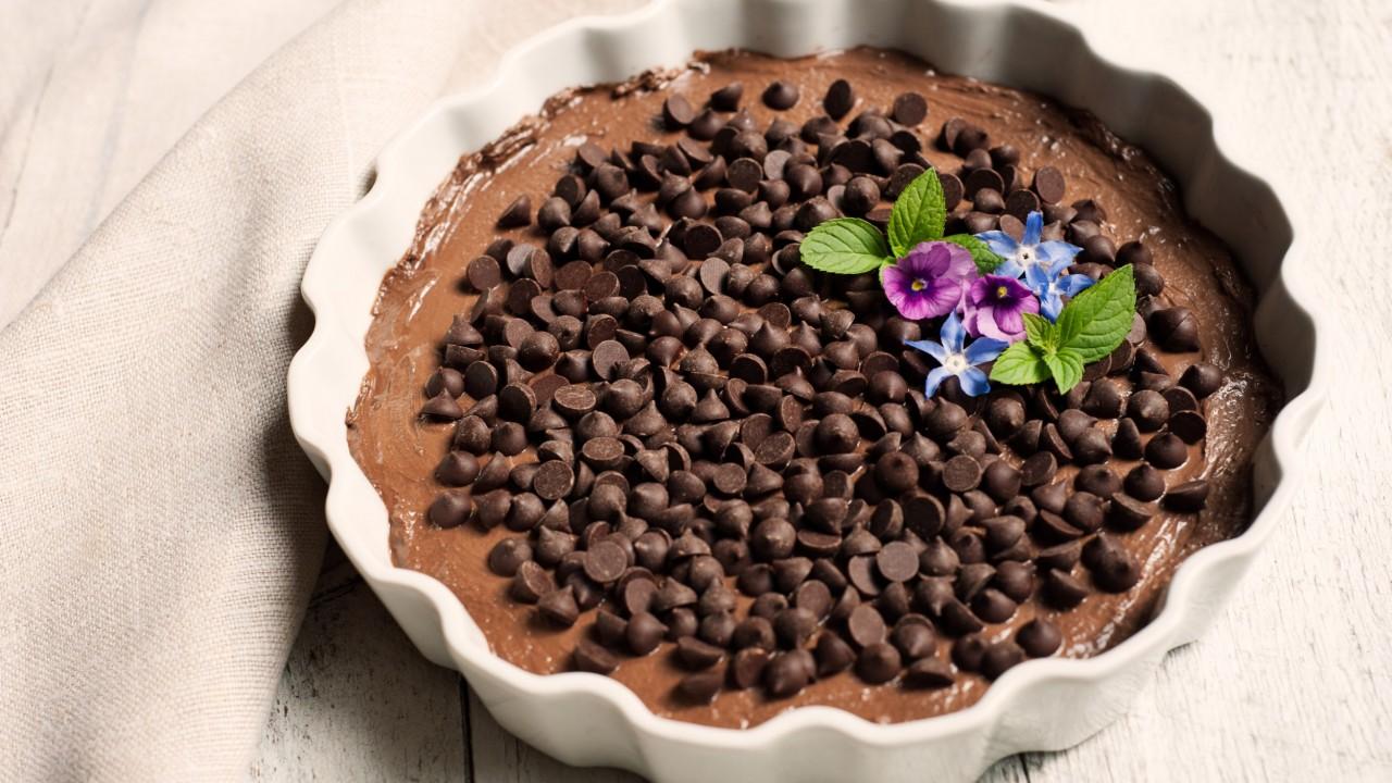 chocolate cheescake
