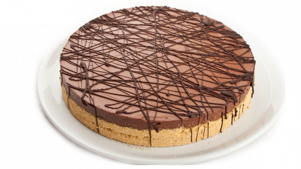 Roasted Banana Dark Chocolate Cheesecake | Equal Exchange
