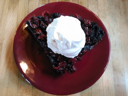 maple berry pie