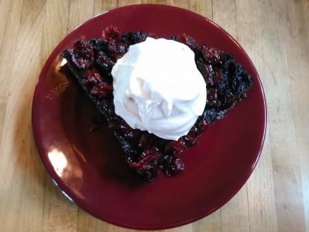 maple berry pie