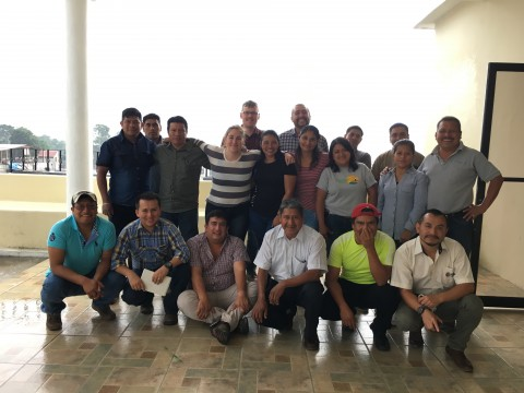 group photo of cupping
