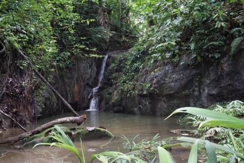 Rafael Zamora's waterfall