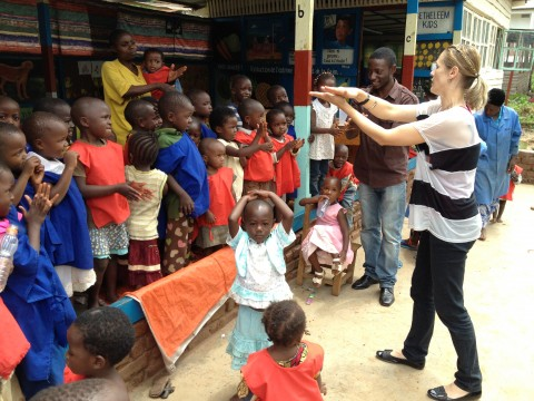 Beth Ann in Africa