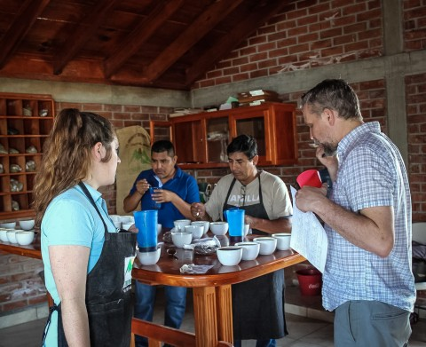 chiapas coffee cupping